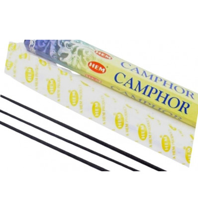 Incense, And Camphor. Lot of 100 sticks brand HEM
