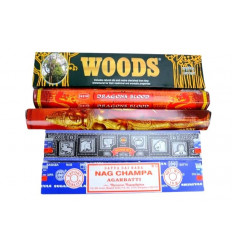 "Assortment of incense ""Best of India"" the best incense indian"
