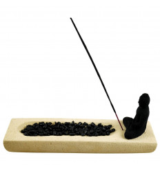 Java Stone Buddha Luxury Incense Holder, Direct Import Asia
