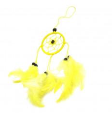Acheter attrape-rêve jaune pas cher pour rétroviseur ou bijou de sac