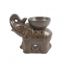 Profumo di elefante indiano in ceramica grigia artigianale