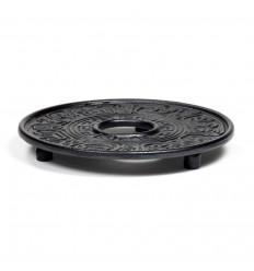Black cast iron dish for Japanese-style Teapot Tetsubin