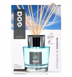 Goatier Esprit Lin Blanc - Goa Rattan Stem Perfume Diffuser - 200ml