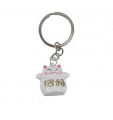 Portachiame Maneki Neko Japanese Red Bell