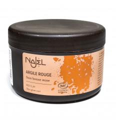 Red clay powder, face and hair mask, good looking 150g - Najel