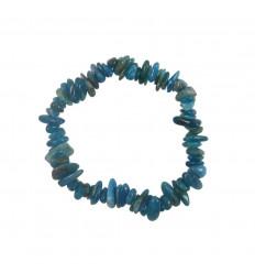 Natural Blue Apatite Baroque Bracelet