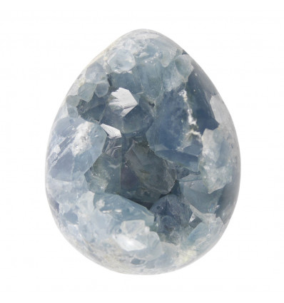 Blue Celestin Egg for Mineral Collector 2Kg Unique Piece