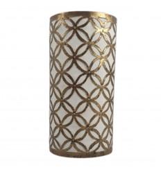 Applique marocchina in ferro battuto a mezzaluna.
