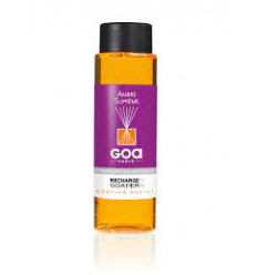 Supreme Amber Perfume Refill - Goa 250ml - 1 pacchetto rattan 10 fili