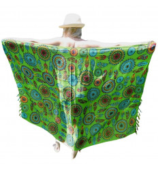 Pareo Motivo verde Dream catcher Multicolor - 160x110cm
