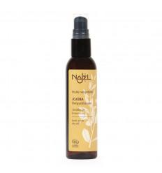 Jojoba oil rebalances for face, body and hair greasy.
