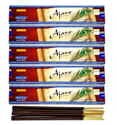 Incenso Ajaro. Lotto di 60 bastoncini di marca Satya Sai Baba