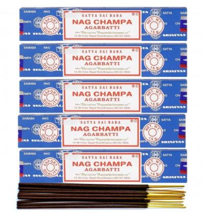 Incense Nag Champa. Lot of 60 sticks brand Satya Sai Baba
