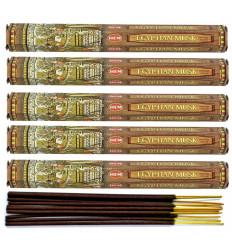 Incense fragrance Musk Egyptian. Lot of 100 sticks brand HEM