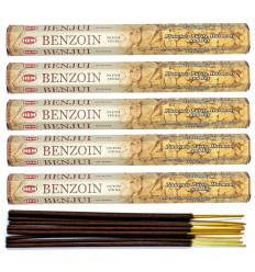 Incense Benzoin (Benzoin). Lot of 100 sticks brand HEM