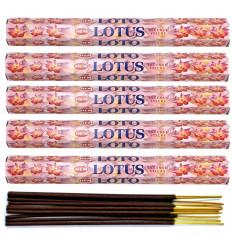 Incense Lotus Lot of 100 sticks brand HEM