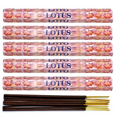Incenso Lotus Lotto di 100 bastoncini marca HEM