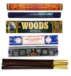 """Assortment of incense """"Best of India"""" the best incense indian"""