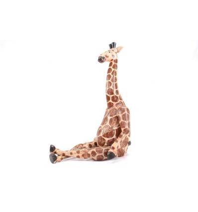 Snodo di marionette / burattini Giraffa in legno stagionato, vecchio stile